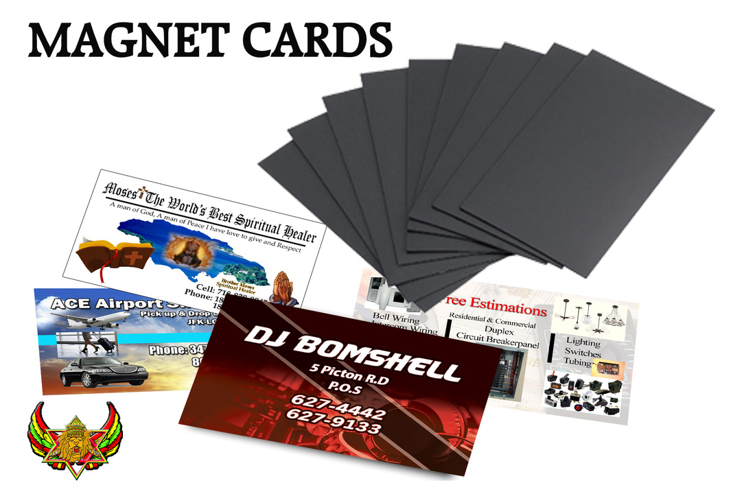 Magnet Business Cards - JFrancois T-Shirts Designs